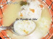 Canja Galinha (bouillon poulet riz)