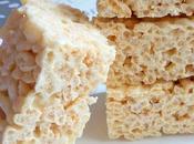 Rice Krispies treats carres marshmallows