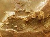 cratère Terby photographié sonde Mars Express