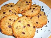 Biscuits croustillants Sésame Chocolat noir