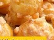 Drôles chouquettes sans gluten lait pour Virginie