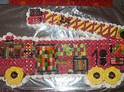 Gâteau bonbon pompier !!!!