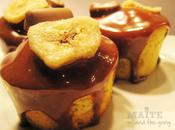 Mini cupcakes bananes caramélisées glaçage Mars éclats Daim