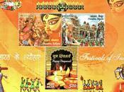 Timbres fêtes indiennes