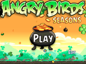Angry Birds Seasons mise jour Saint Patrick disponible