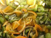 Confiture Kiwi/orange, vitamines gourmandes pour l'hiver
