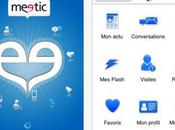 Meetic désormais disponible iPhone iPad.