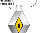 Renault affaire d'escroquerie d'espionnage C'est vexant!