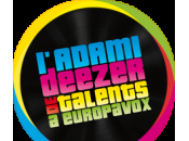Adami Deezer talents EuropaVox finalistes sont