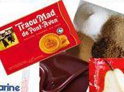 Crumble Poire/Chocolat avec biscuit Traou Pontaven