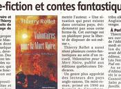 L'auteur Thierry Rollet obtient article dans Journal Centre, France