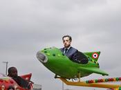 "Sarkozy campagne Libye. Odieux plagiat ""coche mouche"" Jean Fontaine."