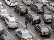 taxis français paralysent grandes villes