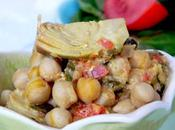 Earth Hour Artichoke Chickpea Curry curry d'artichaut pois chiches