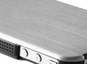 i-Accessoires Coques iPhone Qdos effet acier brossé