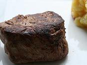 Filet boeuf sauce foie gras
