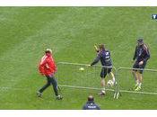 Franck Ribéry casse figure tennis ballon