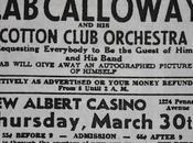Jeudi mars 1933 venez réclamer votre photo dédicacée Calloway