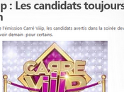 Carré Viiip sont candidats rumeurs web... preseque live