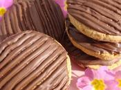Biscuits farine châtaigne sarrasin chocolat (type Granola)