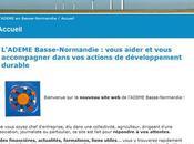 L'ADEME Basse-Normandie redonne coup jeune site
