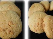 Cookies Beurre Cacahuète Chocolat Blanc