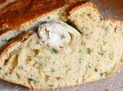 Cake artichaut coriandre fanes radis