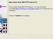 [GED Etape Installation d'IBM http Server v6.1.0.0