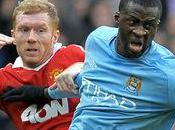 Scholes tacle City avant Wembley