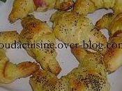 Mini Croissants feuilletés
