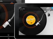 disques vinyl sont iPad...