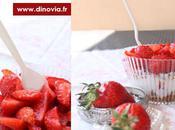 Coupe fraise version cupcake