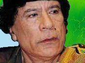 Libye Message Mouammar Kadhafi monde