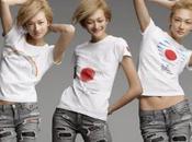 magazine ELLE soutient Japon avec T-shirts créateurs