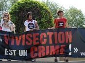 Manifestation contre vivisection Paris 23/04/2011