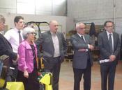 Innovep présente Cityvep Conseil Régional quelques acteurs politiques aveyronnais.