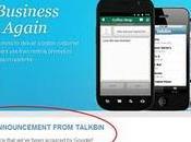 Millions dollars pour mois travail Google paquet, Talkbin profite
