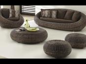 Consommation durable meubles jacinthe d'eau rotin