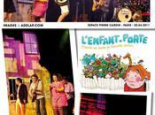 Spectacle pour enfants Francis Cabrel prend direction artistique L'enfant-porte