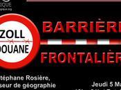 """Café d'Alliance GéoStratégique """"Murs frontières"""" avec géographe Stéphane Rosière sitographie sélective"""