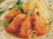 Saumon mariné façon hareng Rates Touquet