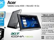 Acer Iconia A500 419€ vente flash