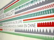 signalétique colorée rythmée réalisée pour l'Ecole Chaillot L'Atelier Beau/Voir