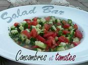 Salade Concombre Tomates
