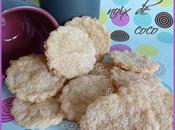 Biscuits noix coco