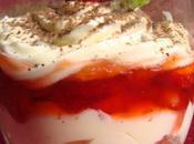 Tiramisu fraises fleur d'oranger