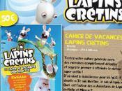 cahier vacances pour adultes Lapins Crétins