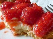 Saints glace folie douce (tarte vanille-fraises)