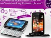Deux smartphones plus chez Sony Ericsson
