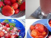 Journée fraise, youpi